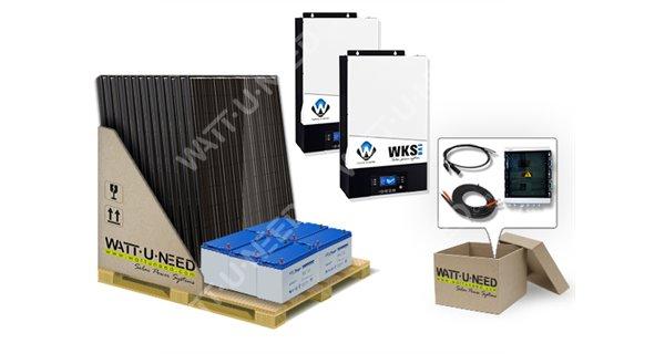 Self-consumption kit 18 solar panels