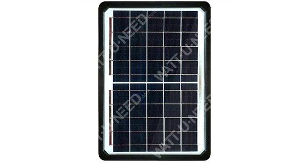 Lampadaire solaire - LED autonome WU 50W 18V - Panneau 150W