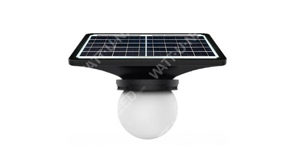 Lampadaire solaire Firefly- LED autonome