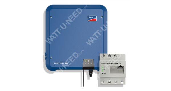 SMA Sunny Tripower STP 10.0 TL INT BLUE - Zéro injection