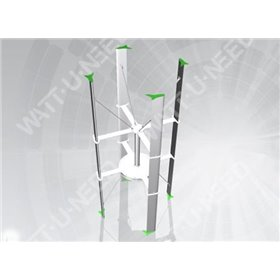 Ecorote 1kW grid injection wind kit