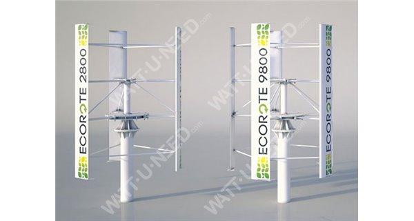 Wind turbine ECOROTE 9800W