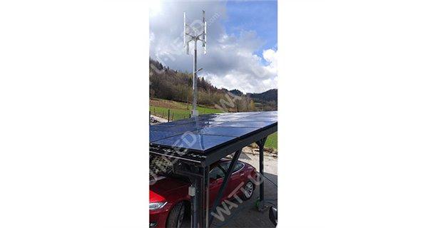 Ecorote wind turbine 1500W