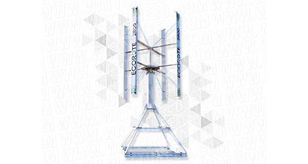 Kit éolienne Ecorote 9.8kW injection réseau