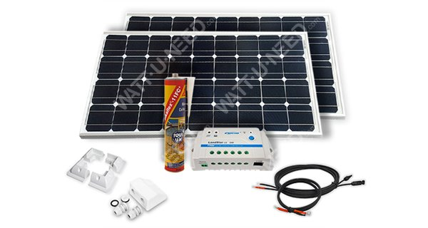 Solar Panel Kit Camping Car 200wc 12v