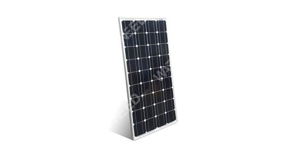 Solar lighting kit 100Wp - 12V with 30W LED spot