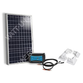 Solar kit 50Wc and 100Wc - 12V with fastening
