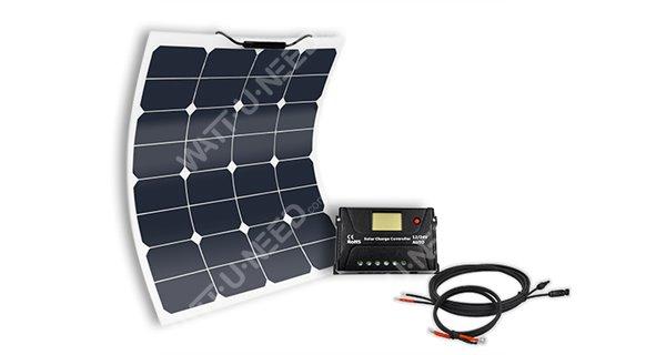 Boat off-grid solar kit MX FLEX PROTECT XTD 50Wp - 12V
