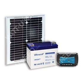 Kit solaire 11,5Wc - 35Ah - 12V