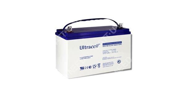 Batteries Gel 100Ah Ultracell