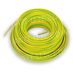 Câble de terre 6mm² 1m