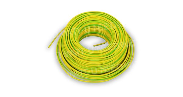 Section 6mm2 earth cable