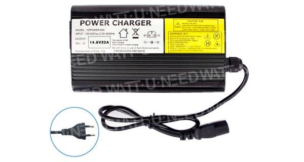 Chargeur batterie lihium YZPOWER 14.6V 20A