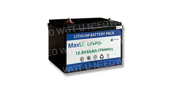 Batterie lithium MaxLi 12.8V 55Ah
