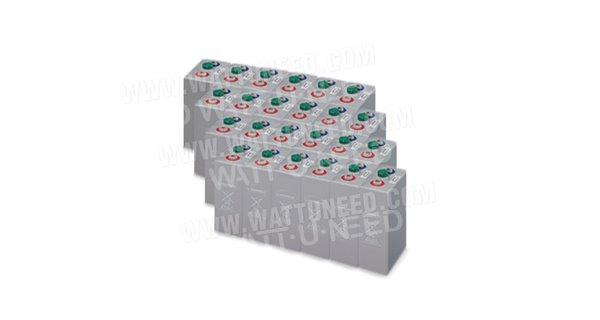 Parc de 30 kWh batteries OPzV 48V