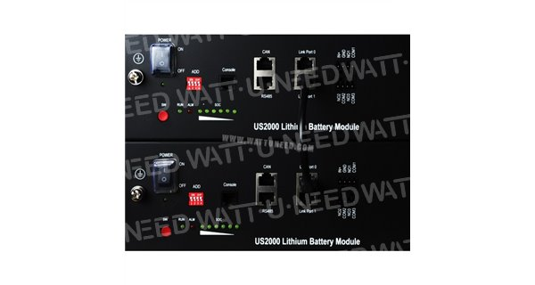 Battery Lithium Pylontech + 550 with Communication Hub