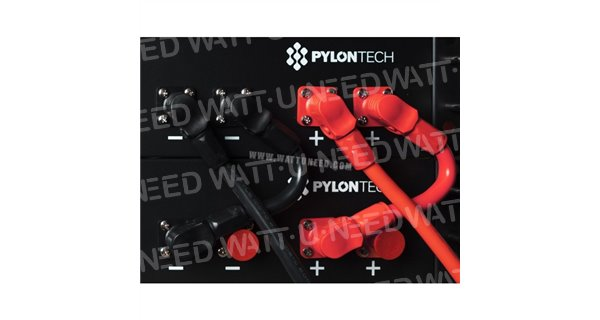 Batterie Lithium Pylontech + 750 avec Hub de communication