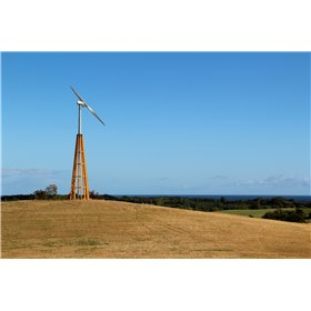 Dali wooden towers for wind turbine InnoVentum