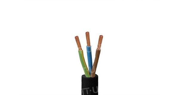 Câble souple H05RR-F 3G0,75mm² - 1m