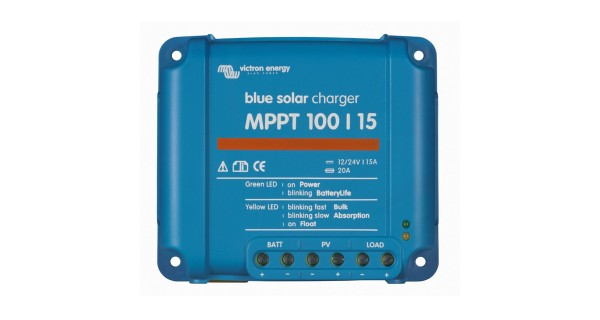 Victron BlueSolar charge controllers MPPT 15A