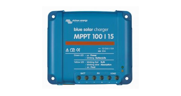 Contrôleurs de charge BlueSolar MPPT 15A