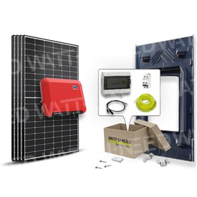 4-panel autoconsumption / 1500W SMA reinjection kit with GSE integration system
