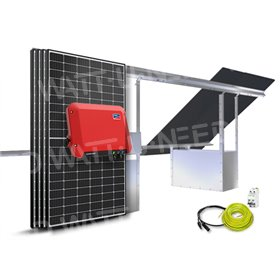 4-panel self-consumption / 1500W SMA reinjection with GSE floor structure