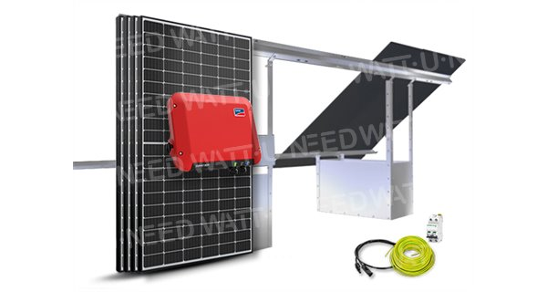 4-panel self-consumption / reinjection 1500W SMA SB 1.5 without storage