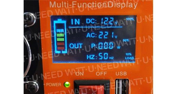 Convertisseur SUNKO 12V/24V 220V 500W
