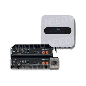 Sermatec inverter kit with lithium storage and back-up