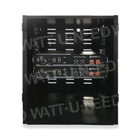 Armoire de rangement Rack 12U pour 6 batteries Pylontech