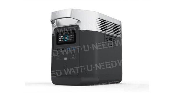 EcoFlow DELTA 220-240V portable power station