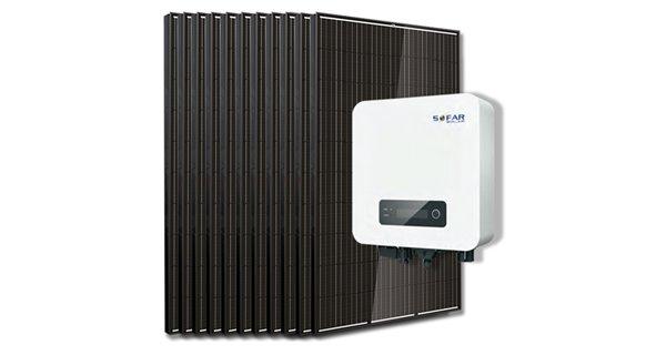 Kit 10 self-consumption panels / 3000W Sofar budget reinjection