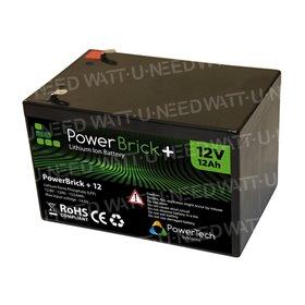 PowerBrick Lithium Battery 12V 12Ah