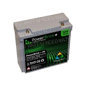 PowerBrick Lithium Battery 12V 20Ah