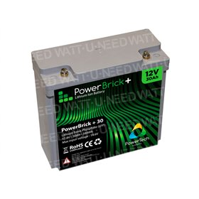 Batterie lithium PowerBrick+ 12V 30Ah