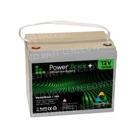 PowerBrick Lithium Battery 12V 100Ah