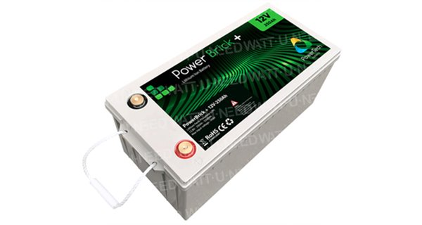 Batterie lithium PowerBrick+ 12V 250Ah