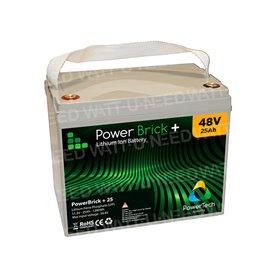 PowerBrick Lithium Battery 48V 25Ah