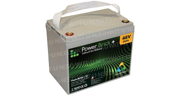 Battery lithium PowerBrick + 48V 25Ah