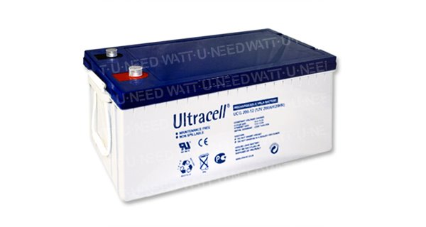 Batterie GEL Ultracell 200Ah