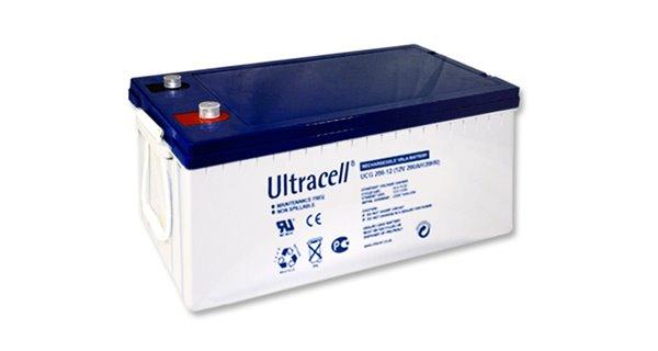 Solar battery GEL Ultracell 200Ah
