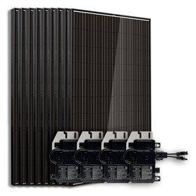 Kit 12 panneaux Enphase autoconsommation / réinjection sans stockage