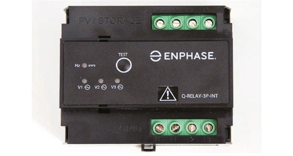Enphase relay Q (multiphase)