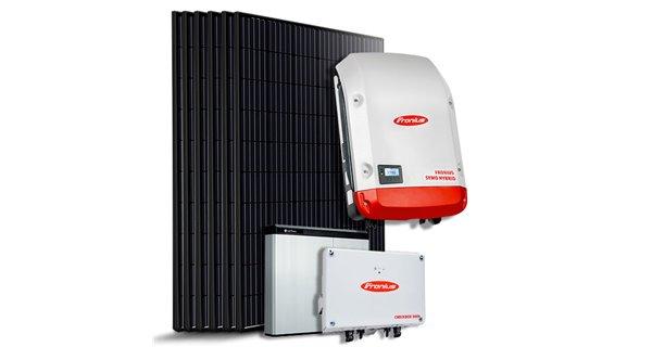 5 kVA hybrid kit with high voltage storage