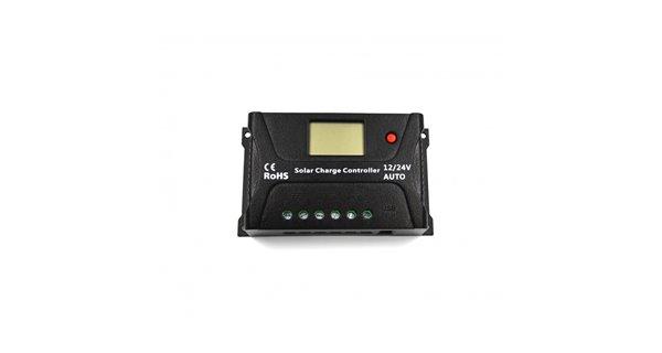 Régulateur solaire SRNE PWM HP 24V 10A