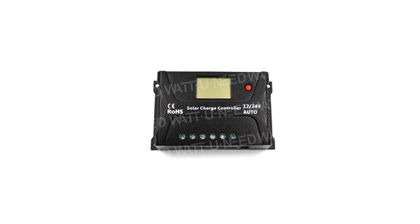 Régulateur solaire SRNE PWM HP 12/24V 10A