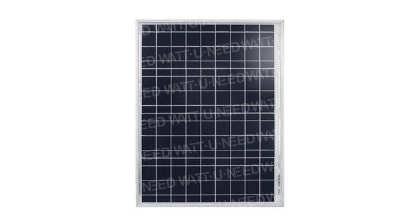 50Wp rigid solar panel