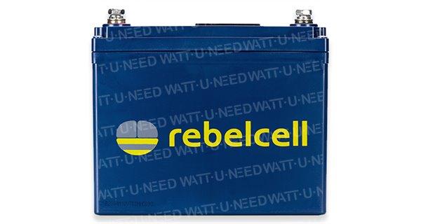 RebelCell Lithium 24V 50Ah battery