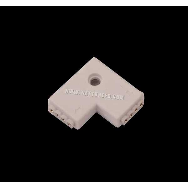 L connector for 3528 or 5050 led tape for Ruban led pour escalier